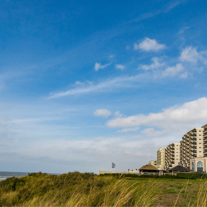 Icoon van de Nederlandse kust